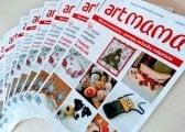 Tlačený časopis Artmama