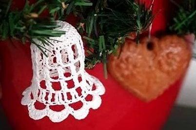 Fotopostupy na háčkované vianočné ozdoby