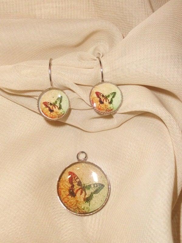 Živicové šperky s motýlikmi