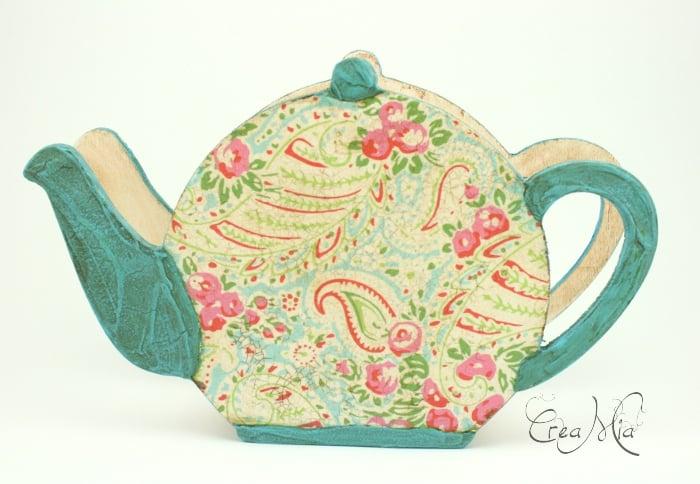 Čajová kanvička - stojan na servítky