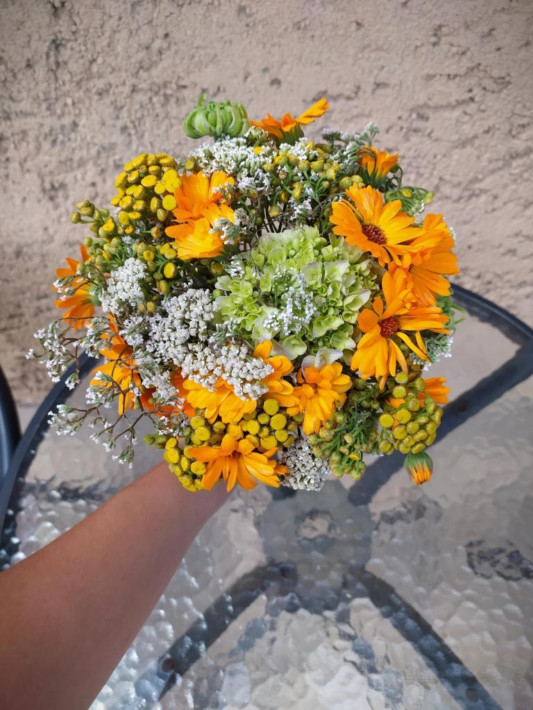 Kytica z byliniek a lúčnych kvetov