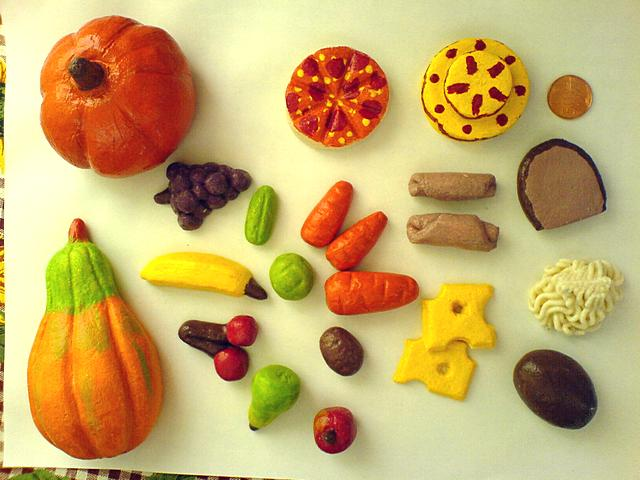 Jedlo na hranie zo slaného cesta | Veroniqua