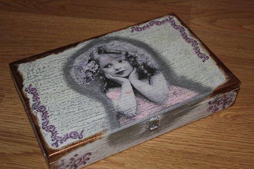 Vintage šperkovnica