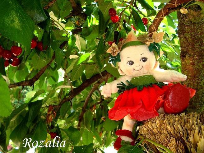 Maková panenka - ručne šitá bábika