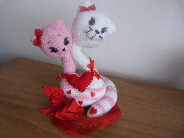 Вязание на валентинов день