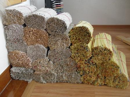 c7a6321d8 je nás 11 tisíc a ideme sa farbiť :), Papierové pletenie | Artmama.sk