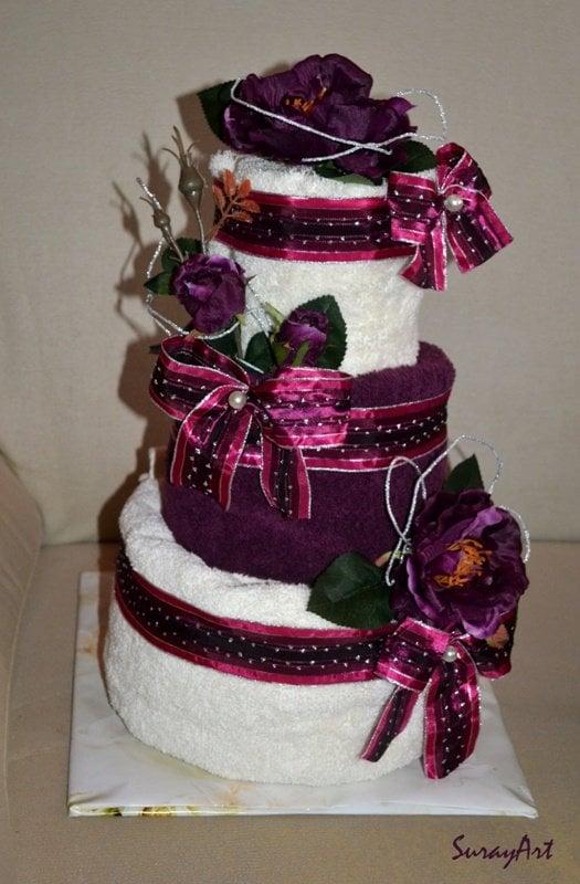 Elegantná uteráková torta   SURI