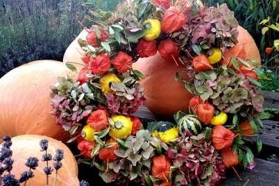 Jesenné dekorácie - inšpirácie, postupy