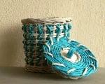 Papierové pletenie postupy