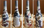 Fľaša k narodeninám