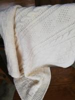 Pletená deka pre bábo