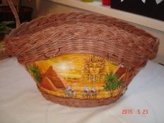 Košík na nákup  z papletu - foto postup