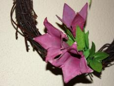 Fotopostup na kvety z obalov na vajíčka - foto postup