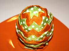 Patchworkové vajíčko I. - foto postup