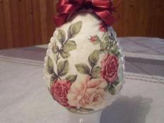 Vrezávaný patchwork na vajíčku - fotopostup - foto postup