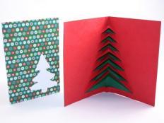 Fotopostup na 3D vianočný pozdrav II. - foto postup