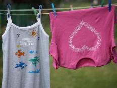 Maľujeme na textil s deťmi - foto postup