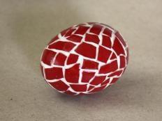Fotopostup na  veľkonočné vajíčko - mozaika - foto postup