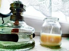 Sójová sviečka v jogurtovom poháriku - foto postup