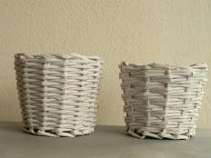 Fotopostup na papierové pletenie pre začiatočníkov - plátnová väzba - foto postup