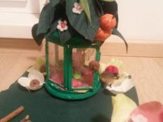 DIY Tinkerbell house (Domcek pre Zvonilku) - foto postup