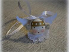 Orieškový anjelik - foto postup