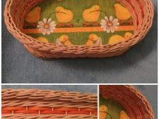 Veľkonočný košík - foto postup