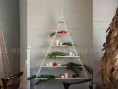 Trikrát vianočný stromček, ktorý neurobí neporiadok - foto postup