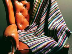 Postup na jednoduchú háčkovanú deku - pre začiatočníkov - foto postup