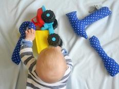 Náradie pre kojencov - foto postup