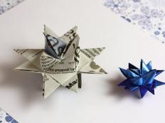 Hviezda z papiera - video postup - foto postup