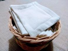 Textilné kozmetické tampóny na odličovanie - foto postup