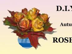 Video: Ruže z listov - jesenná dekorácia - foto postup
