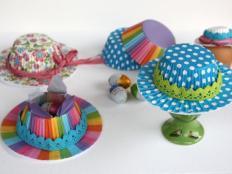 Fotopostup na klobúčiky z papierových košíčkov - foto postup