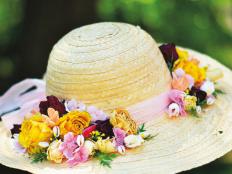 Ako ozdobiť slamený klobúk? Vyrobte si romantický klobúk na horúce dni - foto postup