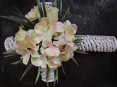 Postup na kríž pletený z papiera - foto postup