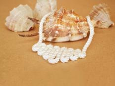 Elegantný náhrdelník z lodného lana - postup - foto postup
