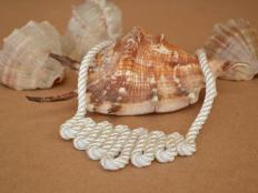 Náhrdelník z lana - foto postup
