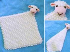 Fotopostup na háčkovaného mojkáčika ovečku - foto postup