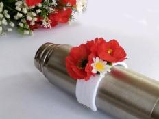 Kvetinkový náramok - foto postup