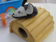 veľké upratovanie alebo myška pre Mišku :-) - foto postup