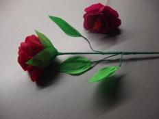 sladké ruže - foto postup