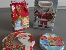 Ako sme s Maťkom vyrábali vianočné krabičky  - foto postup