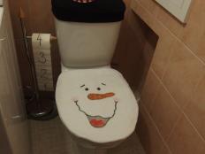 toaleta nemusí byť nudná :D  - foto postup