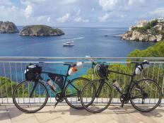 Ako ušiť predný držiak na bicykel - foto postup