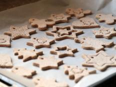Postup na vianočné ozdoby zo škoricovo - slaného cesta bez pečenia - foto postup