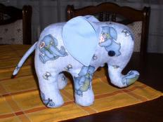 Návod na slona - foto postup