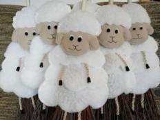 Veľkonočná ovečka - foto postup
