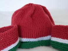 Jednoduchá pletená čiapočka - foto postup