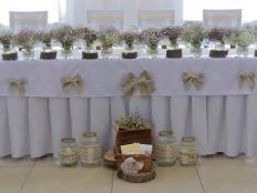 Jednoduchá svadobná výzdoba - postup - foto postup